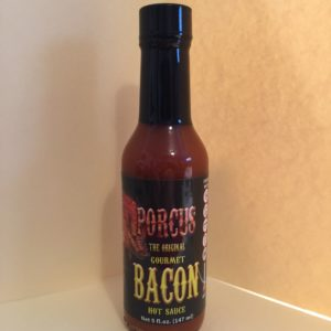 PORCUS GOURMET BACON FLAVORED HOT SAUCE