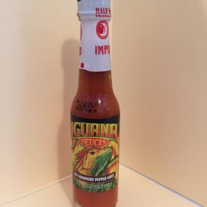 IGUANA RED HABANERO PEPPER HOT SAUCE 2oz