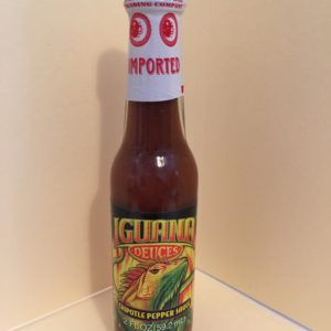 SMOKEY IGUANA CHIPOTLE PEPPER HOT SAUCE