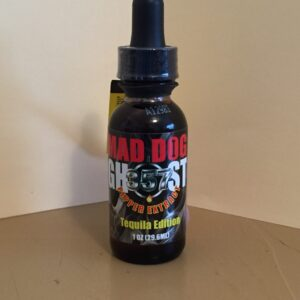 MAD DOG GHOST 357 PEPPER EXTRACT TEQUILA EDITION 1oz