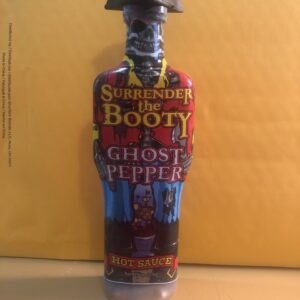 SURRENDER THE BOOTY GHOST PEPPER HOT SAUCE 6oz