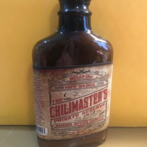 THE CHILIMASTER'S PRIVATE RESERVE BOURBON INFUSED CHIPOTLE SAUCE 8.75oz