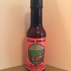 TOAD SWEAT CRANBERRY DESSERT HOT SAUCE 5oz