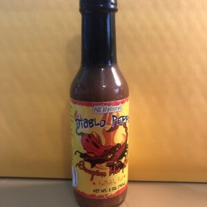 DIABLO PEPPER SCORPION HOT SAUCE 5oz