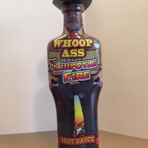 WHOOP ASS  CHIPOTLE FIRE HOT SAUCE  6oz
