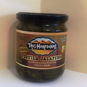 TEQUILA JALAPENOS SLICES IN TEQUILA BRINE 16oz